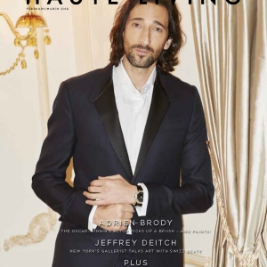 Adrien Brody Cover Story