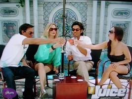 Hosting Plum TV's The Juice with Omar Hernandez