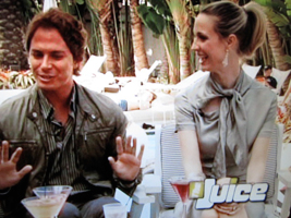 WIth Nick D'Annunzio on The Juice